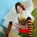 Pretty Teen Schoolgirl Playing With A New Ribbed Dildo She Got For Her 18th Birthday - Picture 5
